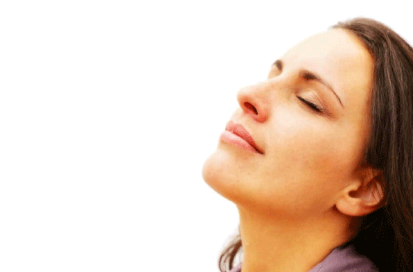 Holistic Counseling - Woman  Taking a Breath